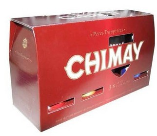 CONFEZIONE CHIMAY TRILOGY 3 BT. 0,33 + 1 BICCHIERE