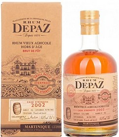 DEPAZ 2002 CASK STRENGTH 3/4