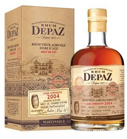DEPAZ 2004 CASK STRENGTH 3/4