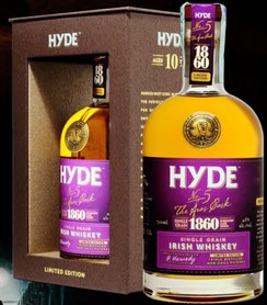 HYDE SINGLE GRAIN BURGUNDY CASK 3/4
