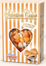 CONFETTI CRISPO MINI SELECTION COLOR ARANCIO GR.500
