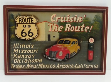 QUADRO ROUTE US 66 CRUISIN' THE ROUTE