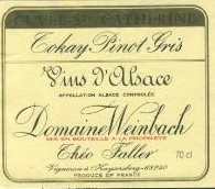 DOMAINE WEINBACH TOKAY PINOT GRIS SELECTION DE GRAINS NOBLES 1/3