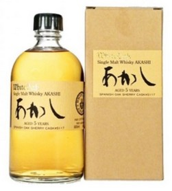 AKASHI SINGLE MALT 5 ANNI 1/2